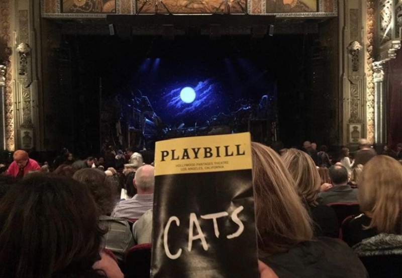 Seating view for Hollywood Pantages Theatre Section Orchestra Center Row Y Seat 108