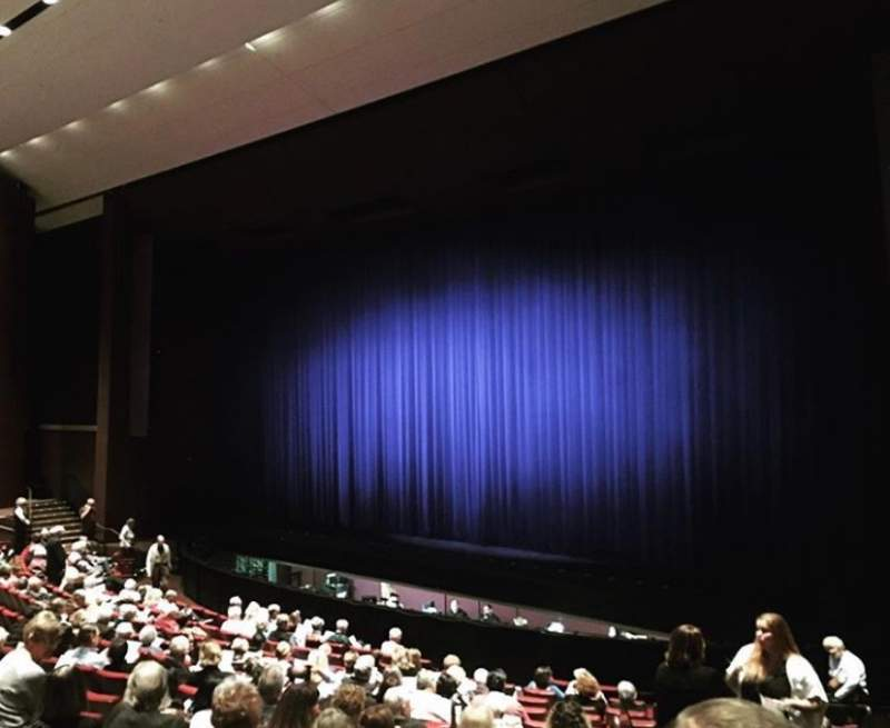 Seating view for Carpenter Performing Arts Center Section Orchestra Right Row P