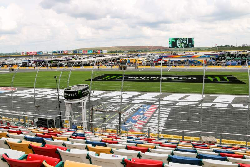 Charlotte Motor Speedway, section: GM General Motors E, row: 16, seat: 25