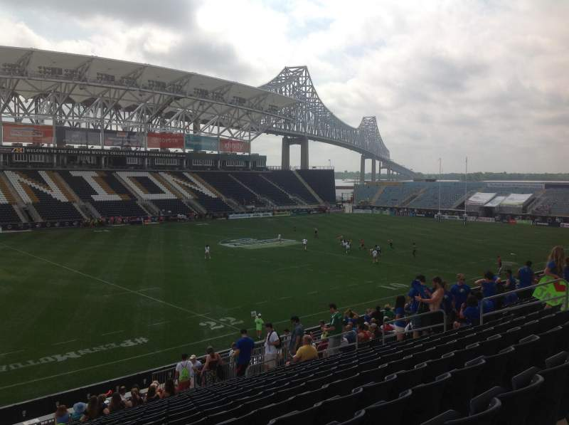 Seating view for Subaru Park Section General Admission