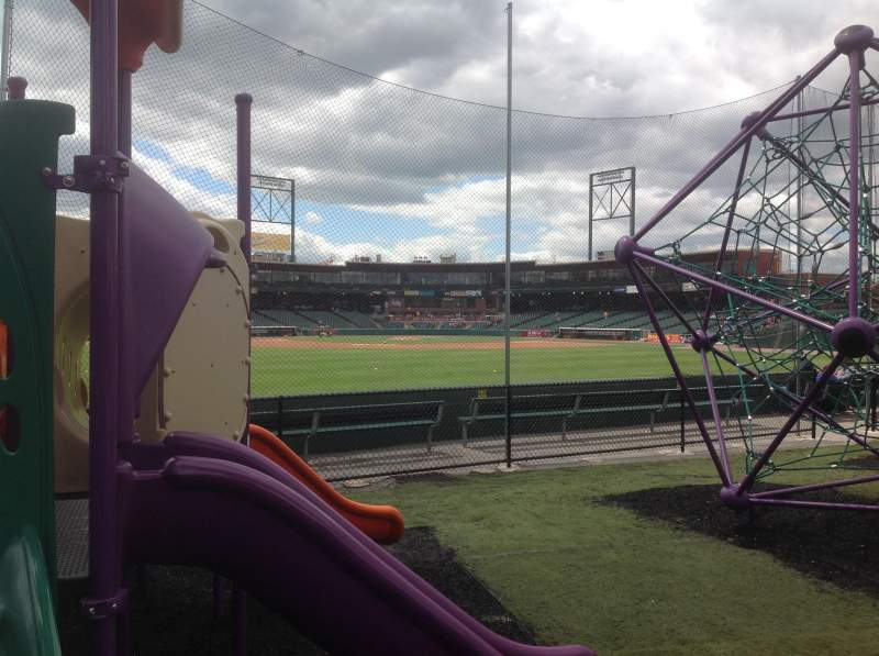 Seating view for PeoplesBank Park Section Playground