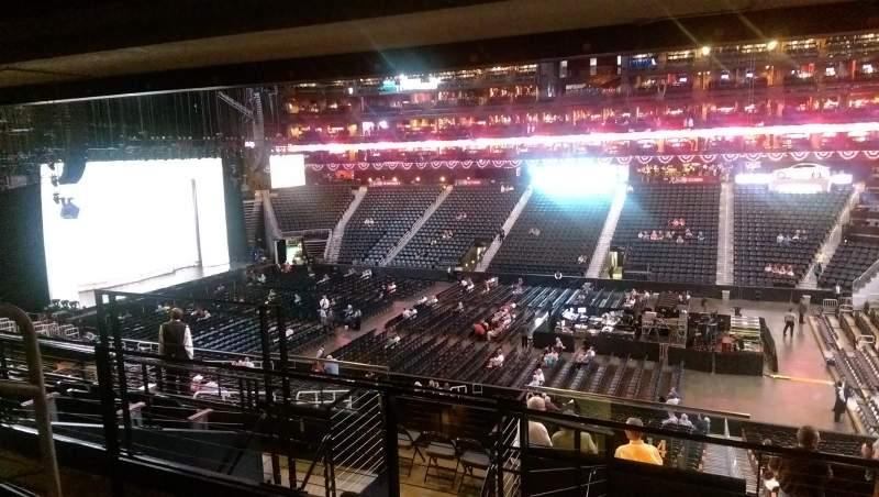 Seating view for State Farm Arena Section 210 Row G Seat 21