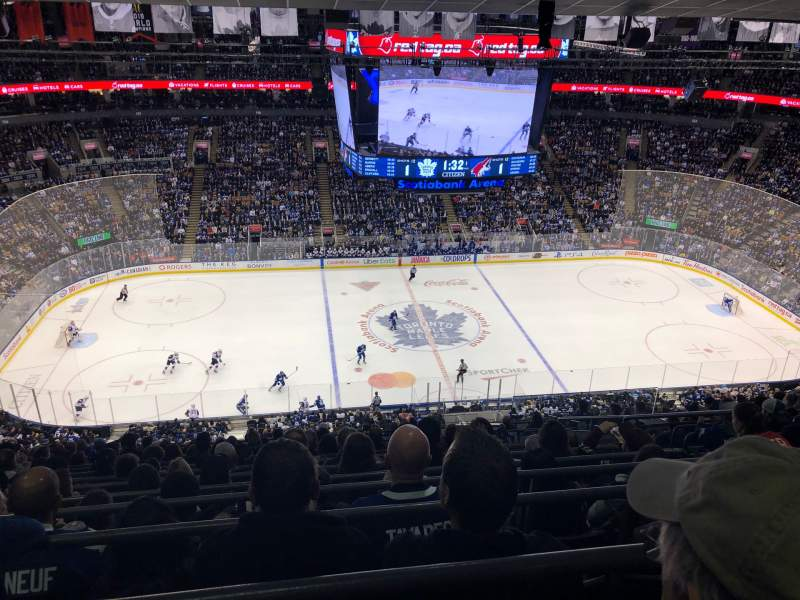 Seating view for Scotiabank Arena Section 310 Row 15 Seat 4