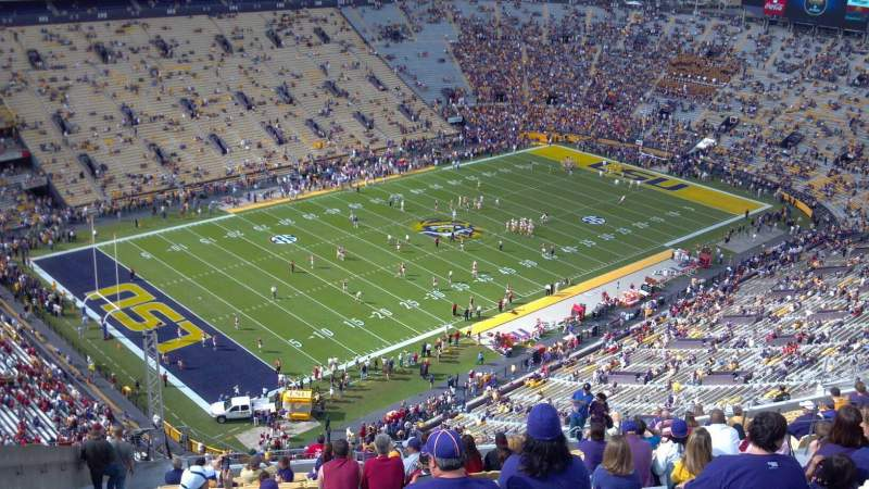 Seating view for Tiger Stadium Section 643 Row Y Seat 22
