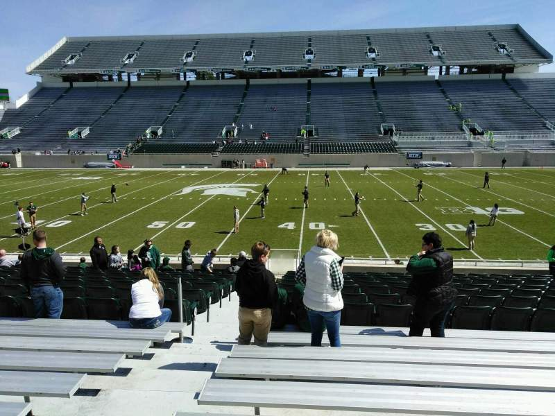 Seating view for Spartan Stadium Section 23 Row 18 Seat 18
