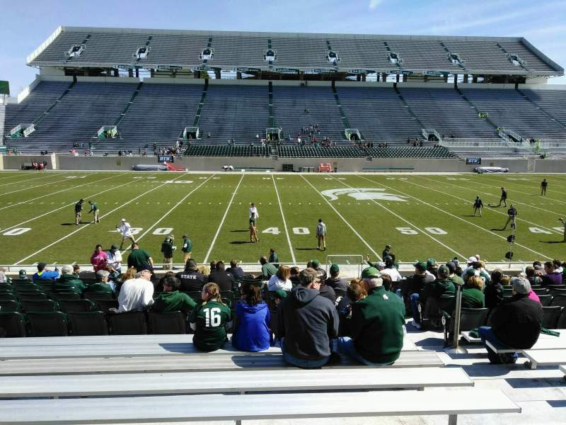 Seating view for Spartan Stadium Section 24 Row 20 Seat 23