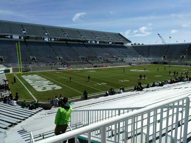 Spartan Stadium, section: 28, row: 28, seat: 21