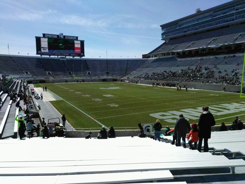 Spartan Stadium, section: 3, row: 24, seat: 44