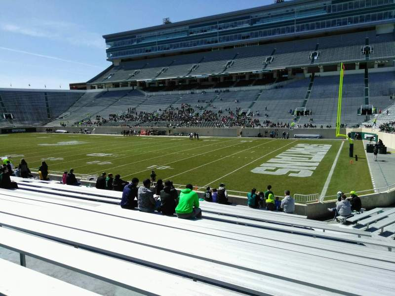Spartan Stadium, section: 5, row: 20, seat: 44