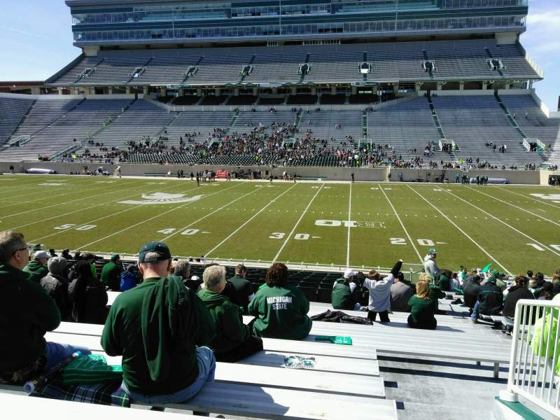 Spartan Stadium, section: 7, row: 26, seat: 23