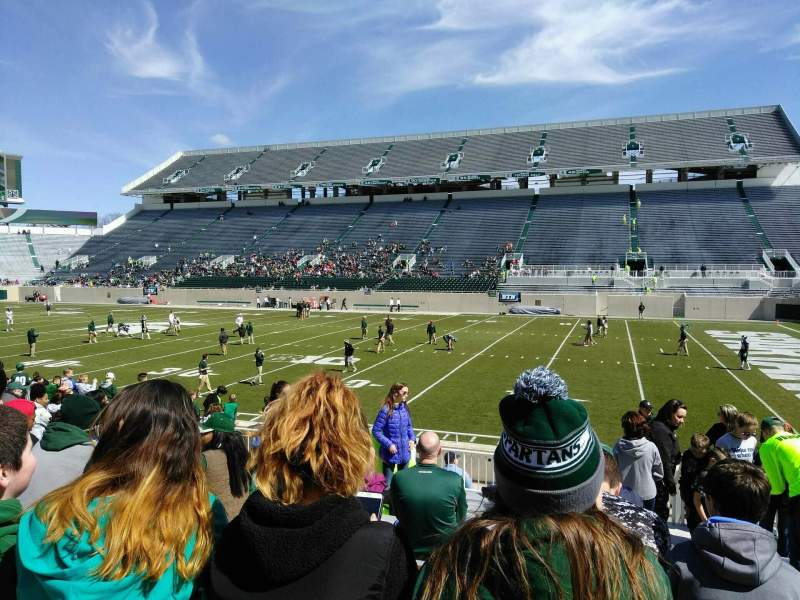 Spartan Stadium, section: 21, row: 17, seat: 23