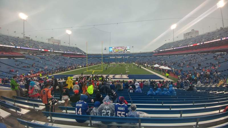 New Era Field, section: 121, row: 26, seat: 20, 21