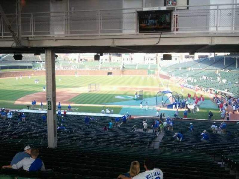 Seating view for Wrigley Field Section 216 Row 21 Seat 104