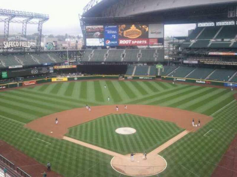 Seating view for Safeco Field Section 131 Row 1 Seat 9