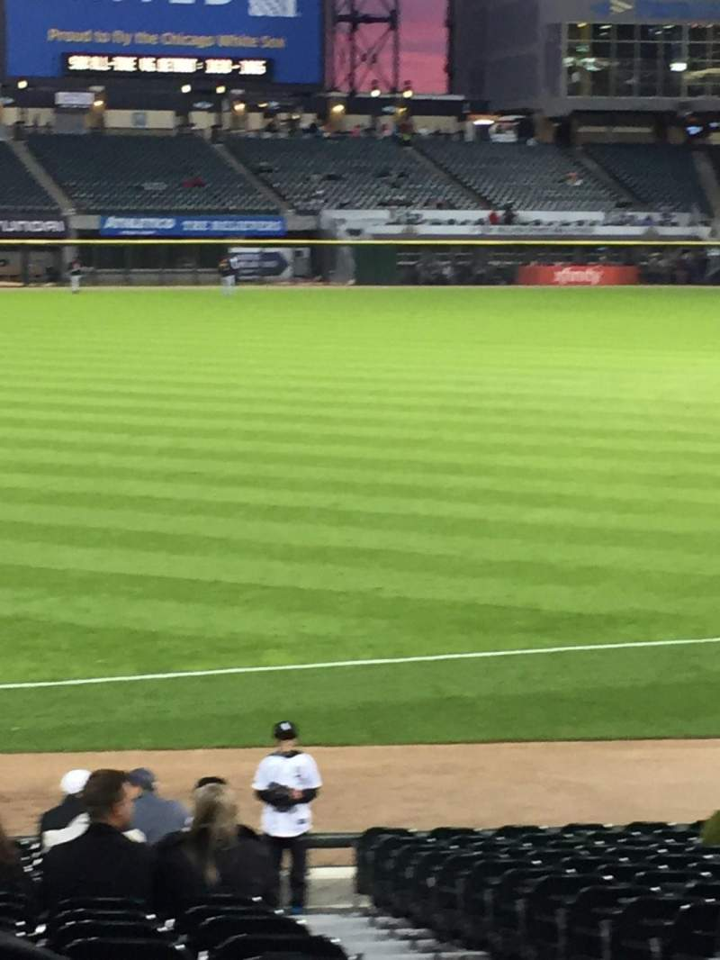 Seating view for Guaranteed Rate Field Section 148 Row 21 Seat 4