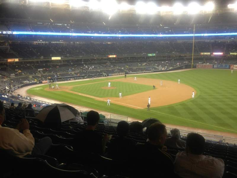 Seating view for Yankee Stadium Section 212 Row 16 Seat 10