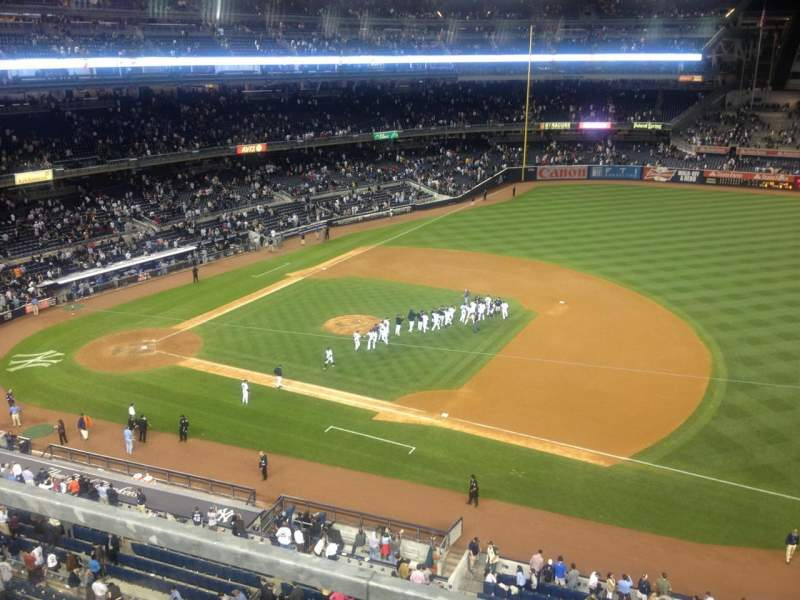 Seating view for Yankee Stadium Section 312 Row 1 Seat 5
