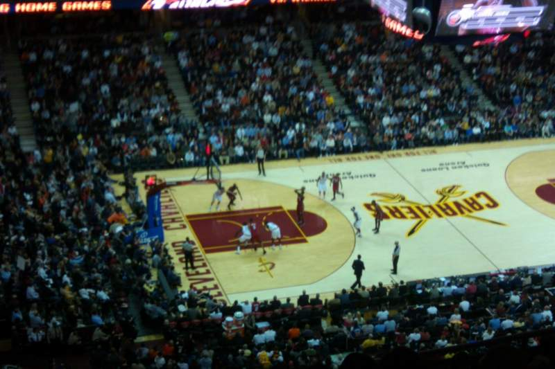 Seating view for Quicken Loans Arena Section 223 Row 14 Seat 13