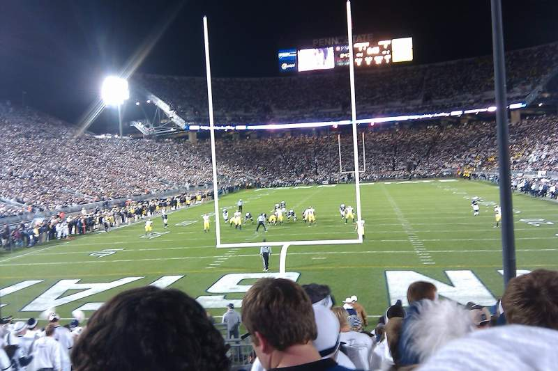 Seating view for Beaver Stadium Section SE Row 17 Seat 20