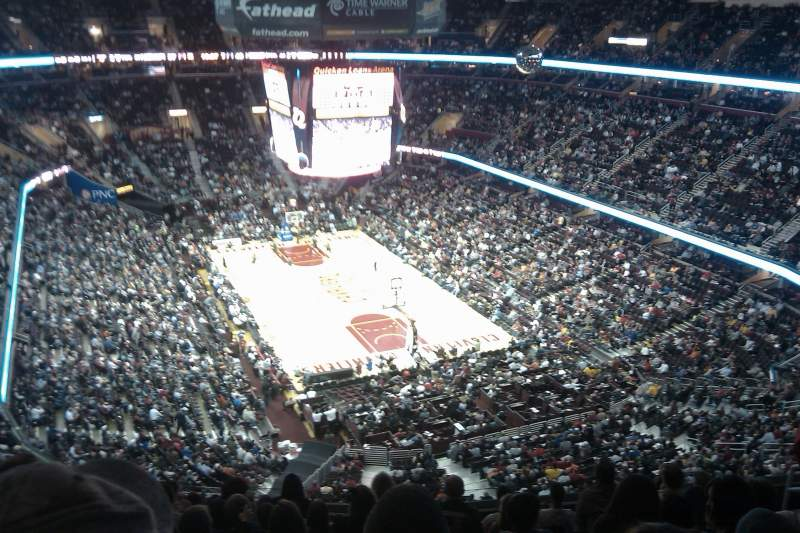 Seating view for Quicken Loans Arena Section 232 Row 10 Seat 10