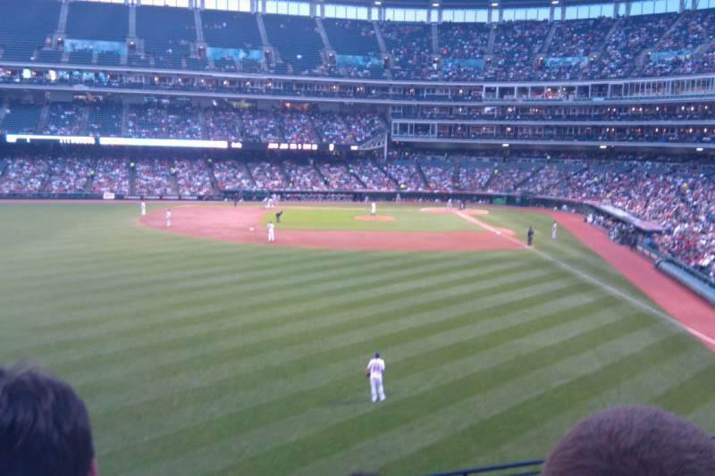 Seating view for Progressive Field Section 180 Row H Seat 22