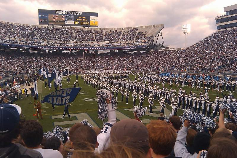 Seating view for Beaver Stadium Section SH Row 12 Seat 13