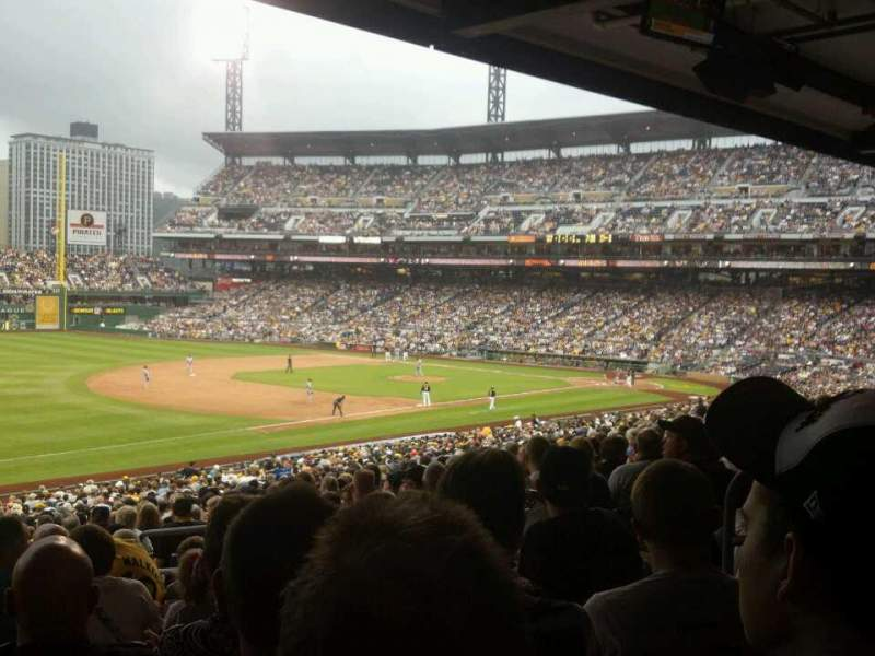 Seating view for PNC Park Section 129 Row GG Seat 7
