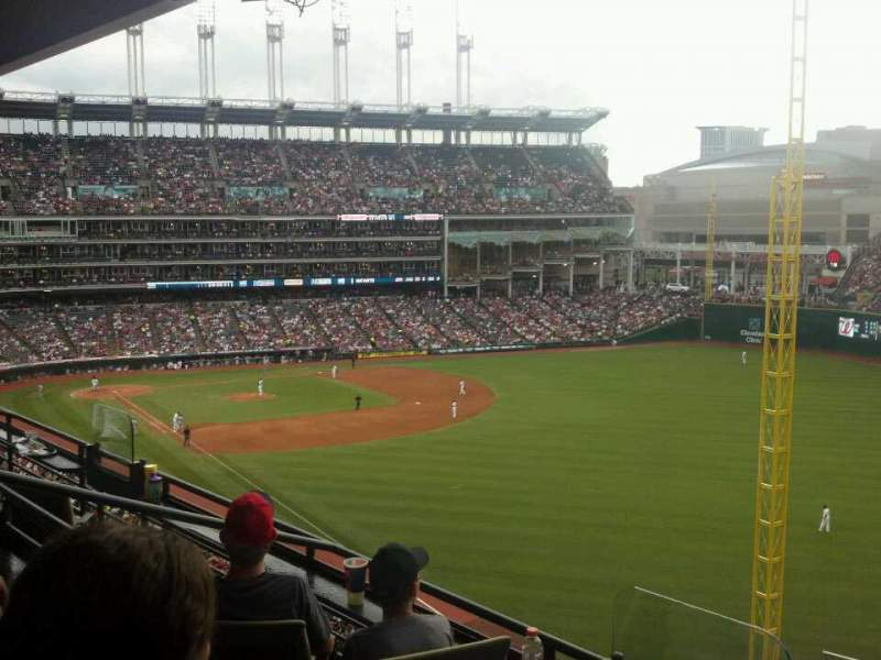 Seating view for Progressive Field Section Suite 301 Row SRO Seat 13