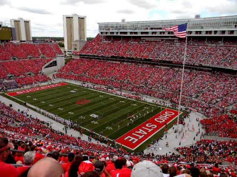 Seating View For Ohio Stadium Section 12C Row 31 Seat 13