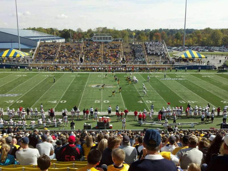 Seating view for Dix Stadium Section 4 Row 29 Seat 20