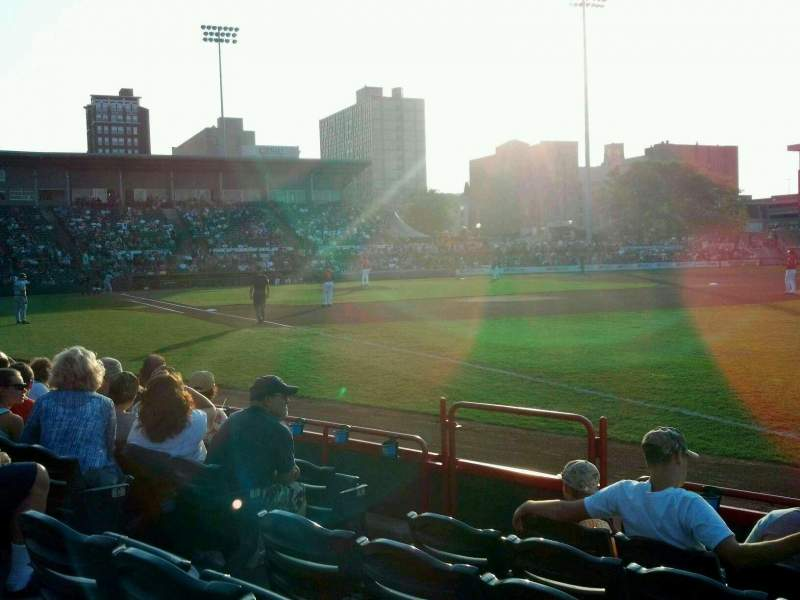 Seating view for UPMC Park Section 101 Row F Seat 3