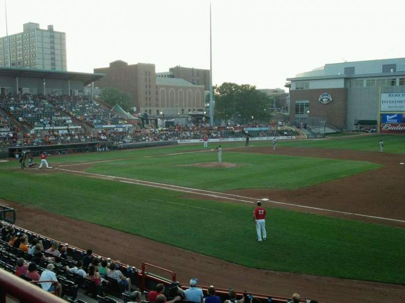 Seating view for UPMC Park Section 201 Row AA Seat 3