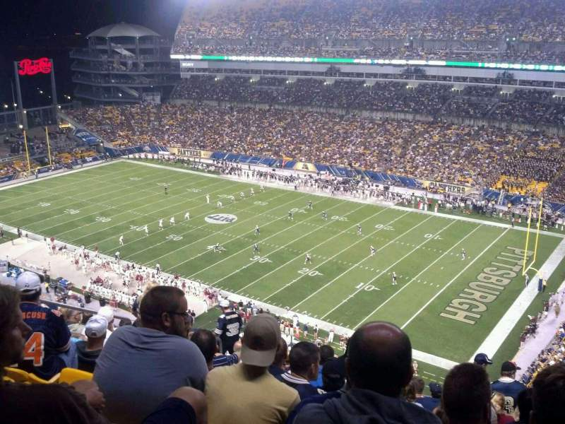 Seating view for Heinz Field Section 516 Row R Seat 11