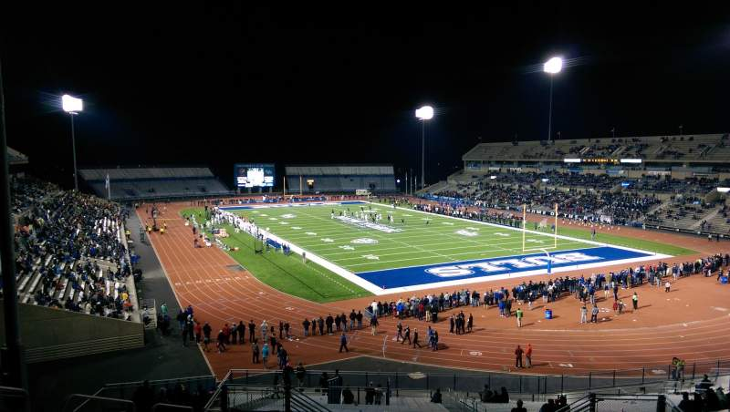 Seating view for UB Stadium Section 341 Row A Seat 13
