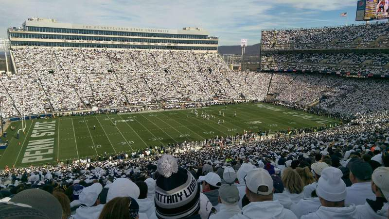 Seating view for Beaver Stadium Section WHU Row 79 Seat 13