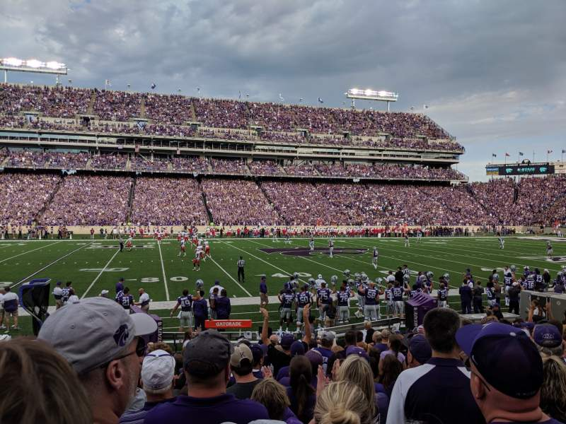 Seating view for Bill Snyder Family Stadium Section 4 Row 13 Seat 23