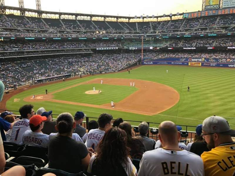 Seating view for Citi Field Section 310 Row 5 Seat 4