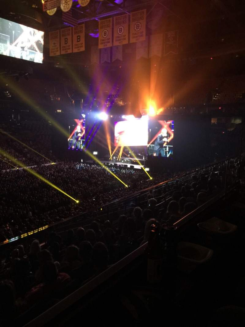 Seating view for TD Garden Section Level 5 Row Ste 15