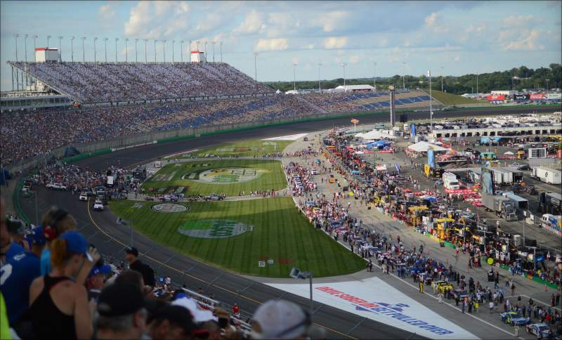 Seating view for Kentucky Speedway Section Kentucky Tower A Row 17 Seat 28