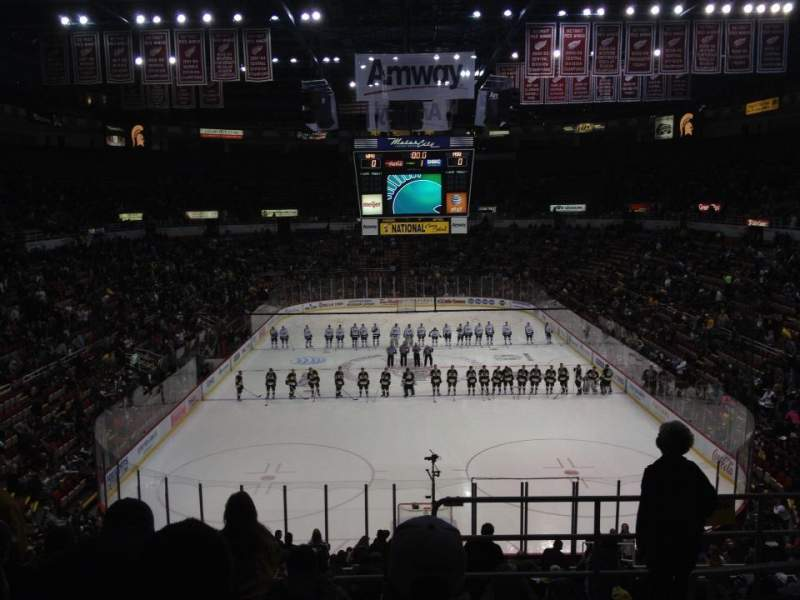 Seating view for Joe Louis Arena Section 201
