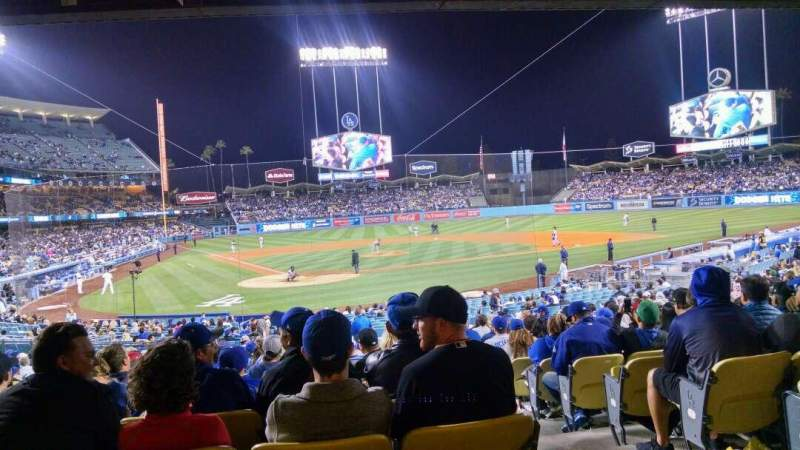 Dodger Stadium - Interactive Seating Chart