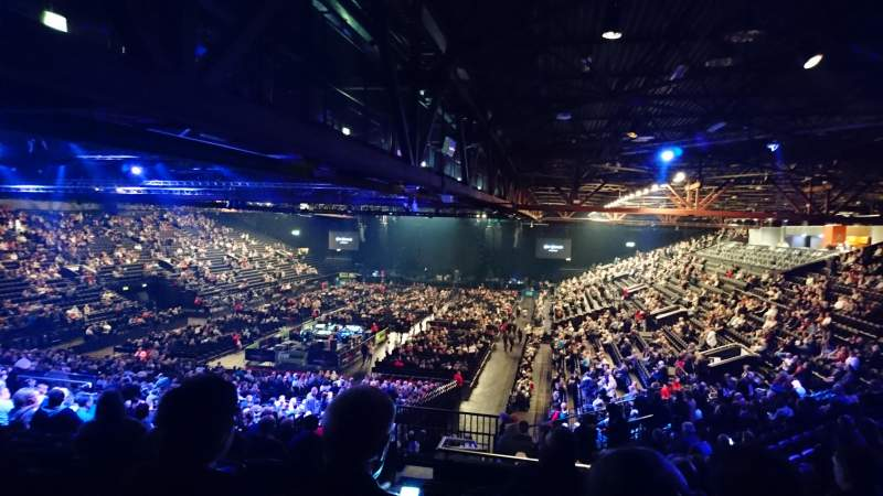 Genting Arena, section: 7, row: YD, seat: 228