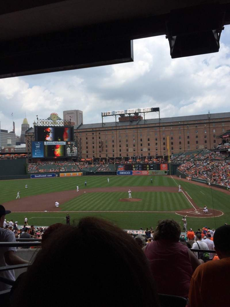 Seating view for Oriole Park at Camden Yards Section 47 Row 6 Seat 11
