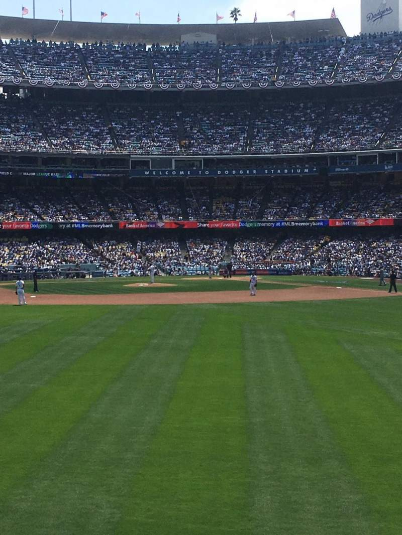 Dodger Stadium, section: 307PL, row: D, seat: 7