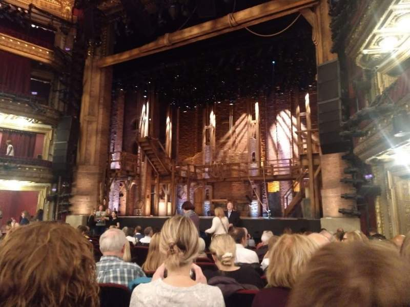 Seating view for CIBC Theatre Section Orchestra R Row N Seat 10