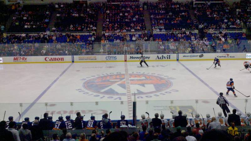 Seating view for Nassau Veterans Memorial Coliseum Section 217 Row G Seat 9
