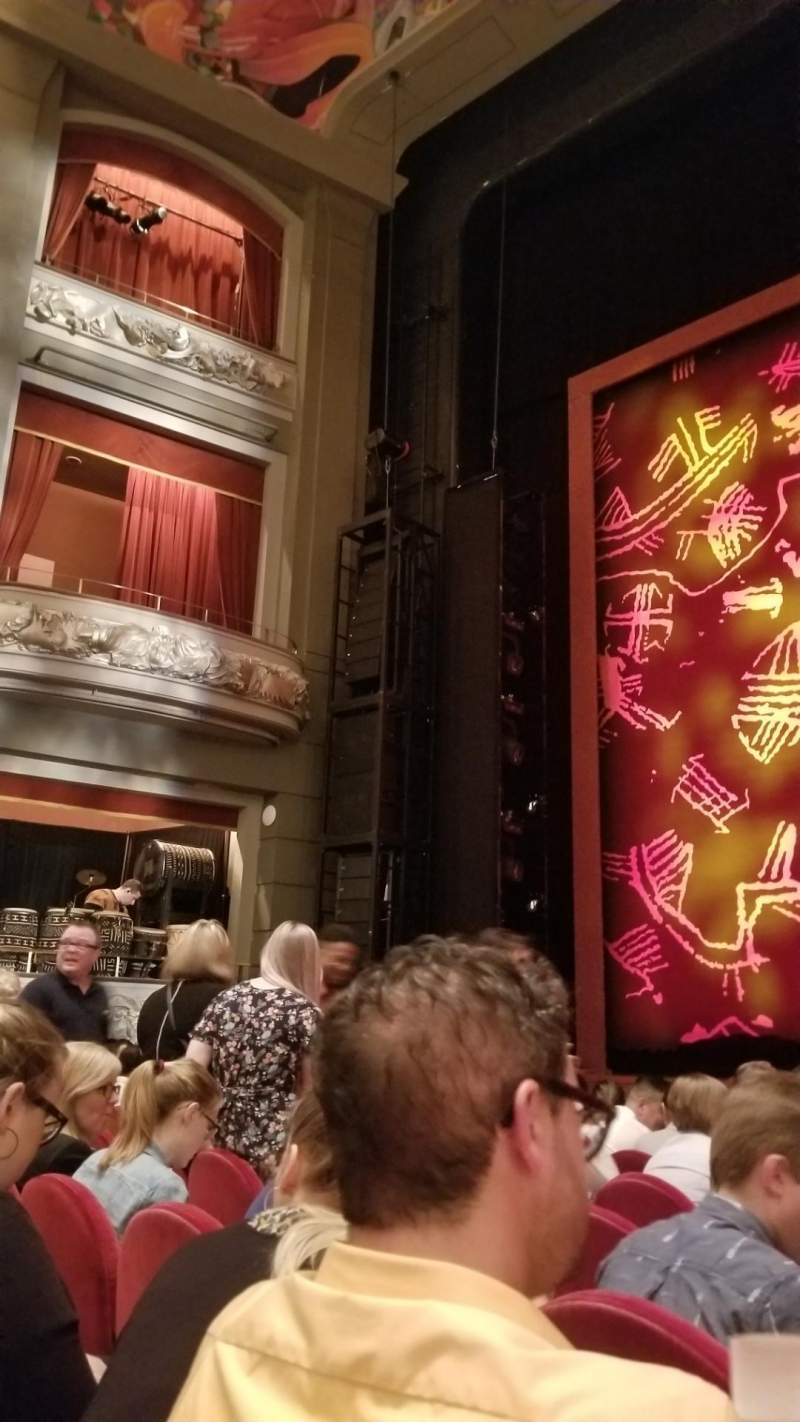 Seating view for Princess of Wales Theatre Section Orchestra Row HH Seat 27