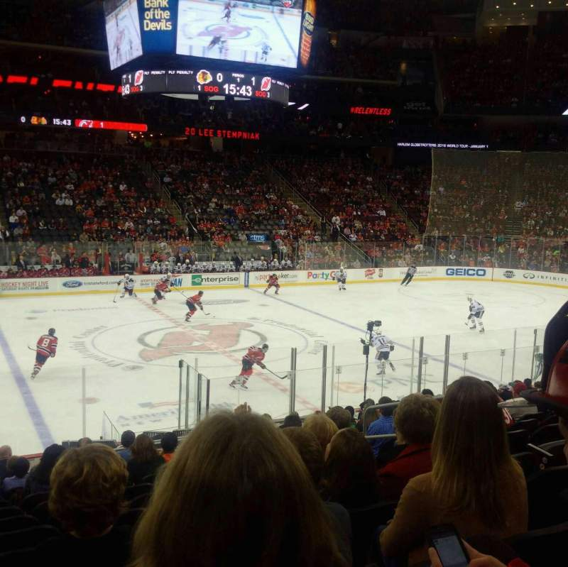 Seating view for Prudential Center Section 18 Row 17 Seat 7
