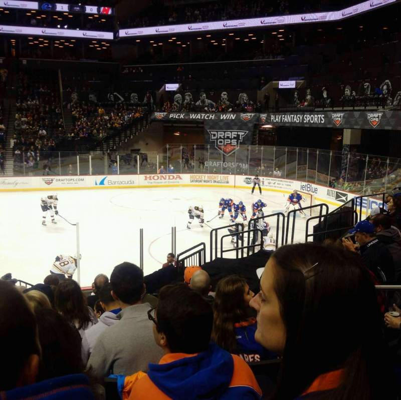 Seating view for Barclays Center Section 6 Row 15 Seat 4