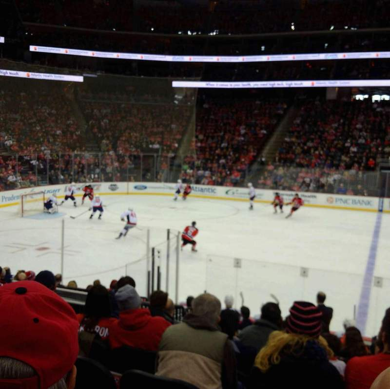 Seating view for Prudential Center Section 7 Row 12 Seat 1